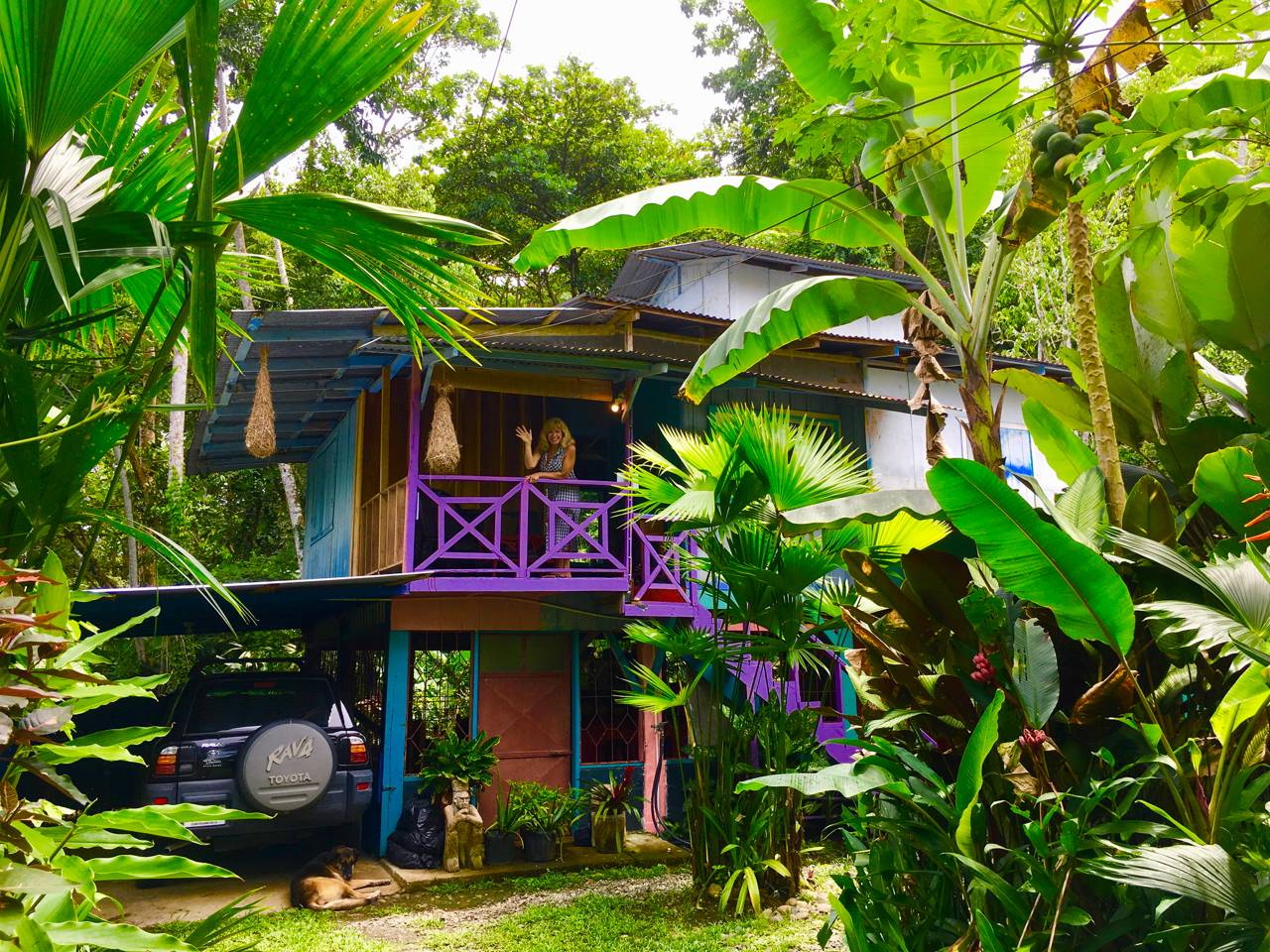 Hidden Jungle Beach House & Casita Azul